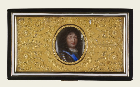 Snuffbox with Portrait of Louis XIV, King of France