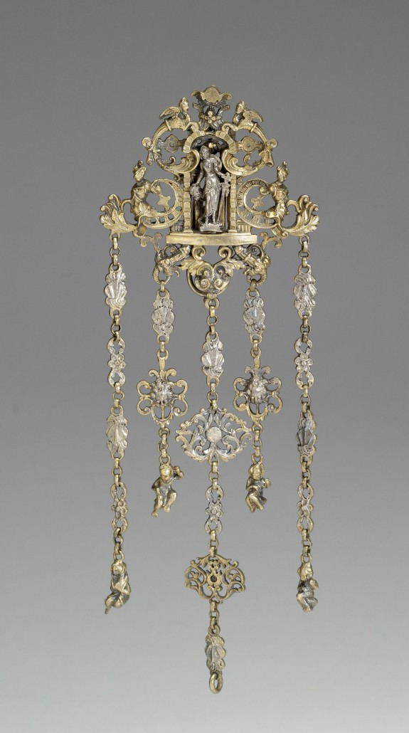 Chatelaine (Ornamental Chain) with the Figure of Judith with the Head of Holofernes