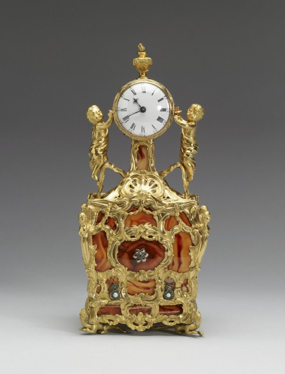 Cabinet Clock with Musical Movement