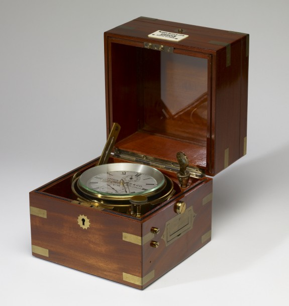 Chronometer from Henry Walters' Steamyacht, the Narada