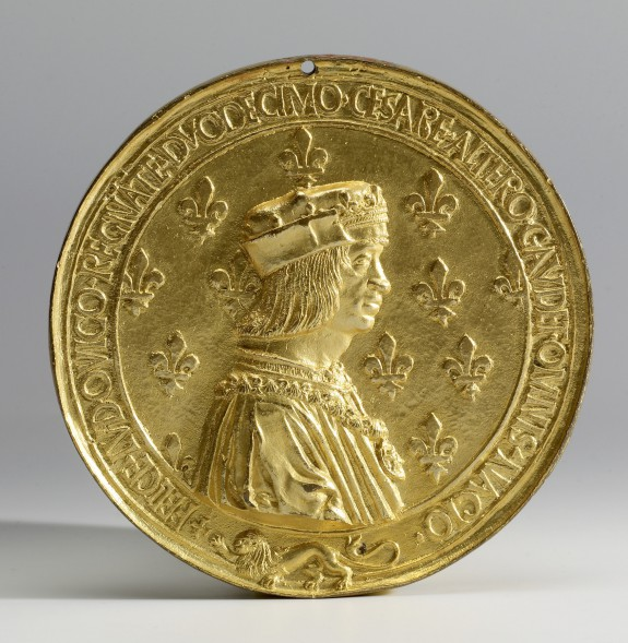 Medallion with the Portrait of Louis XII, King of France