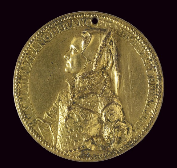 Medal of Queen Mary Tudor as Wife of King Philip II