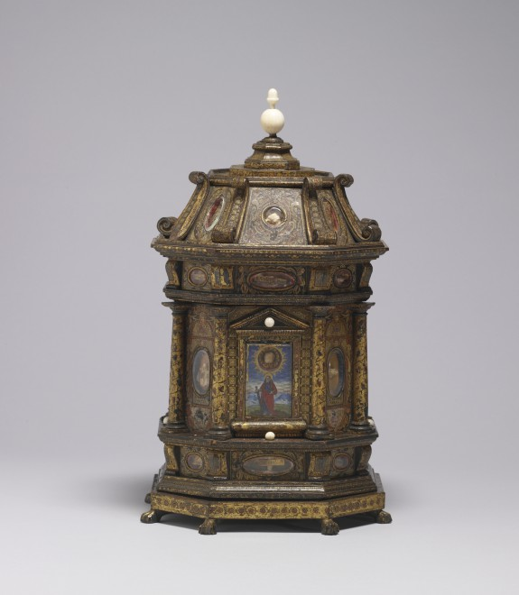 Reliquary with Relics of Christ's Shroud and of Various Martyrs