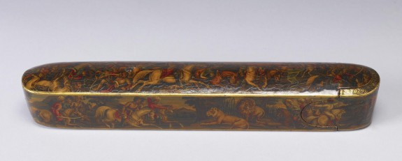 Pen Box with Battle Scenes