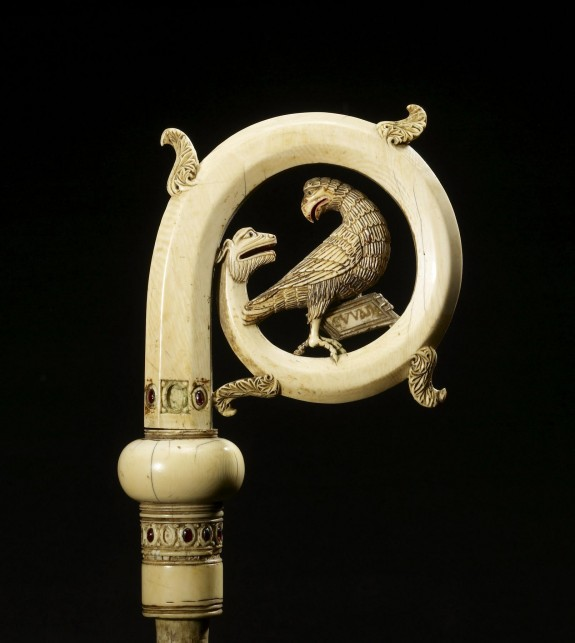 Crozier Head with the Eagle of Saint John