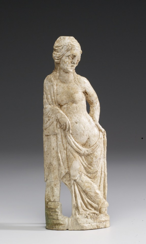 Plaque with a Female Figure