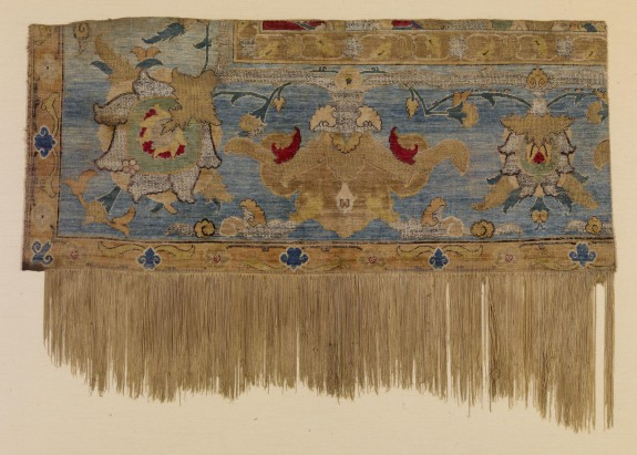 Corner Fragment of a Polonaise Carpet