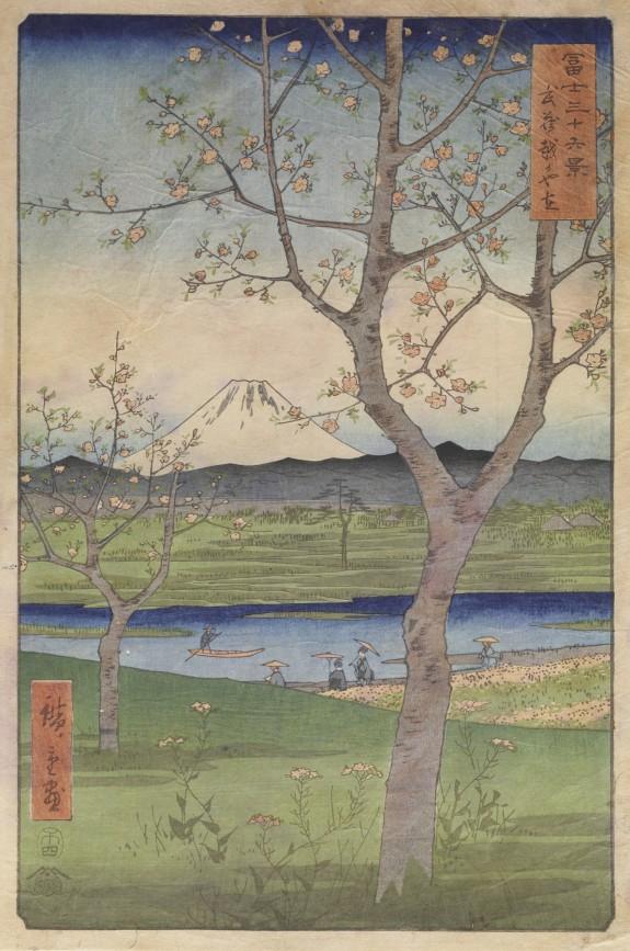 The Outskirts of Koshigaya in Musashi Province