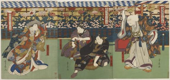 Triptych: Kiichi Hogen sanryaku no maki