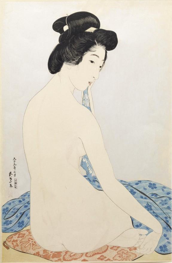 浴後之女 (Woman after the Bath (Yokujo no Onna))