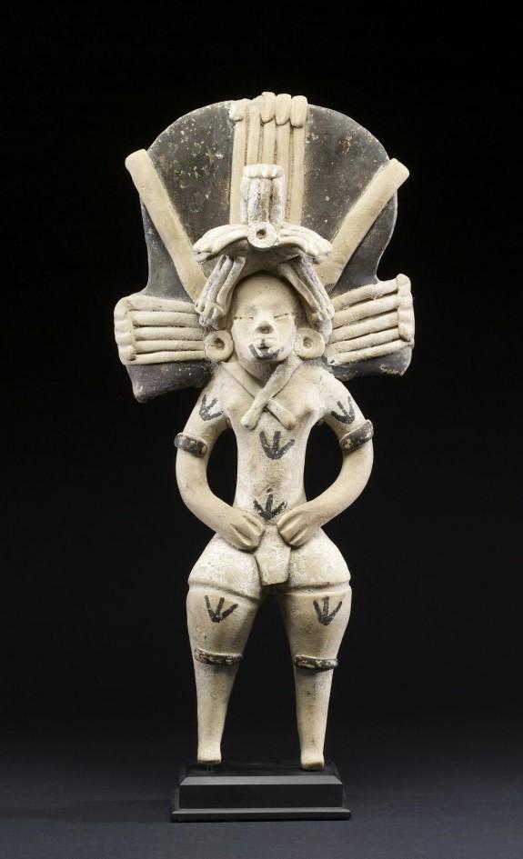 Female Ballplayer Figurine