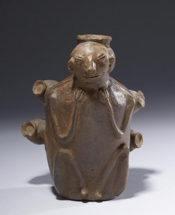 Figure Carrying Jars Effigy