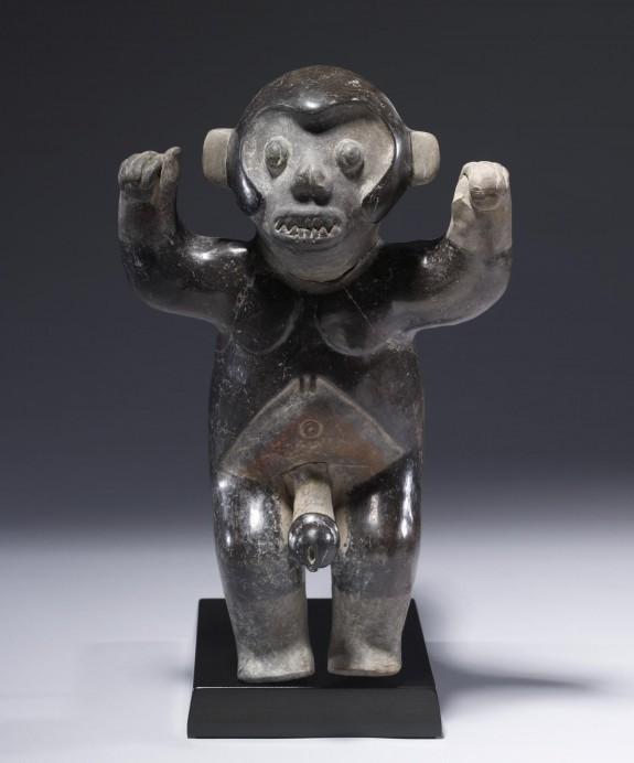 Monkey-shaman (?) Effigy Figure