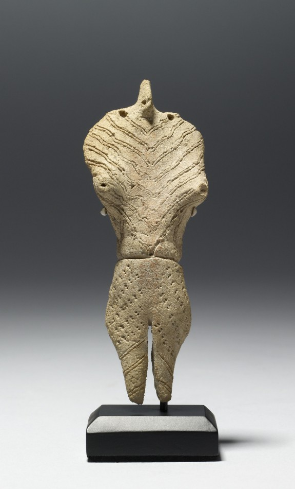 Manta Ray Effigy Figure