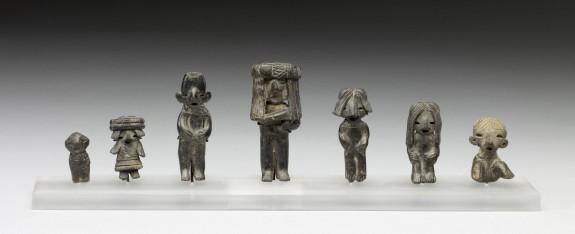 Seven Small Figurines