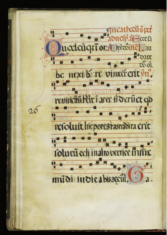 Leaf from Antiphonary