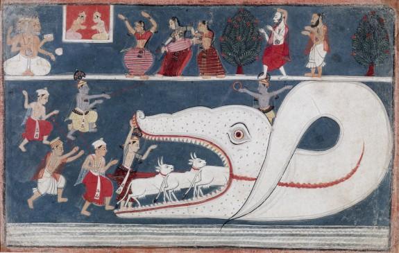 Krishna Kills Aghasura