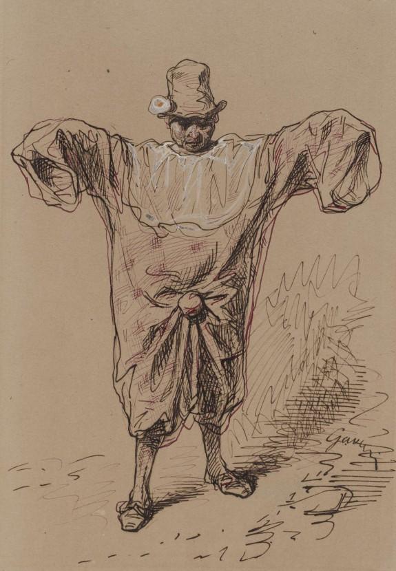 Man in a Clown Suit