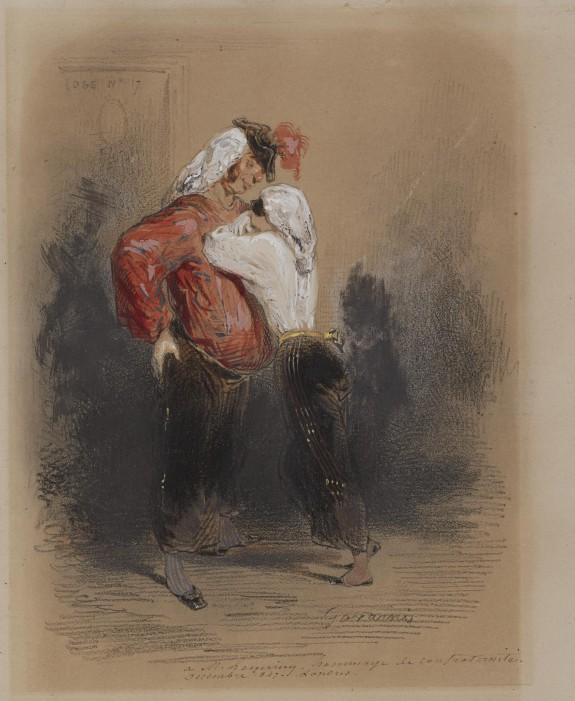 Man and Woman in Fancy Dress