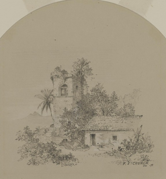 Ruined Church in the Tropics