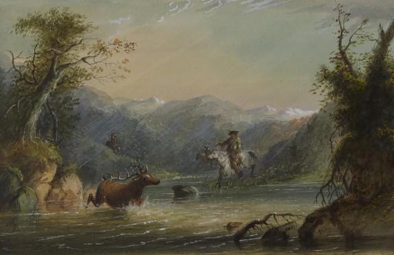 Hunting the Elk