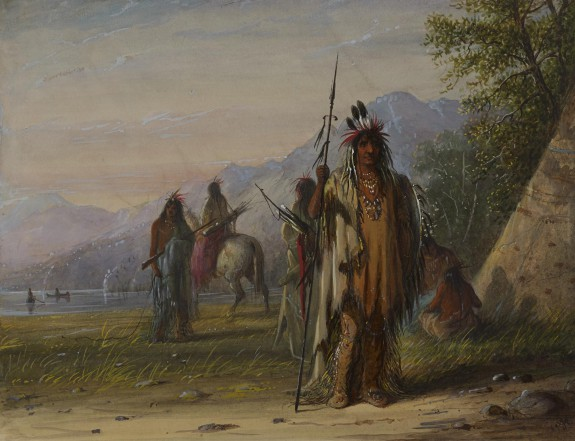 Snake Indian Camp