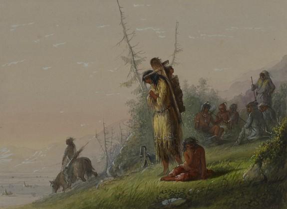 Encampment of Indians