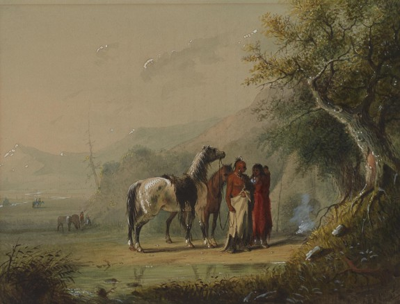 Camp Scene (Sioux)
