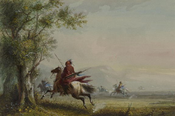 Sioux Reconnoitring