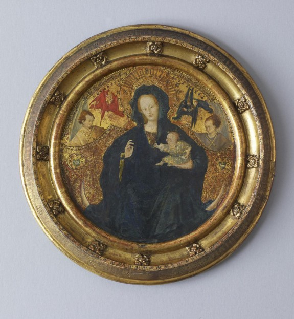 Madonna with the Christ Child Writing