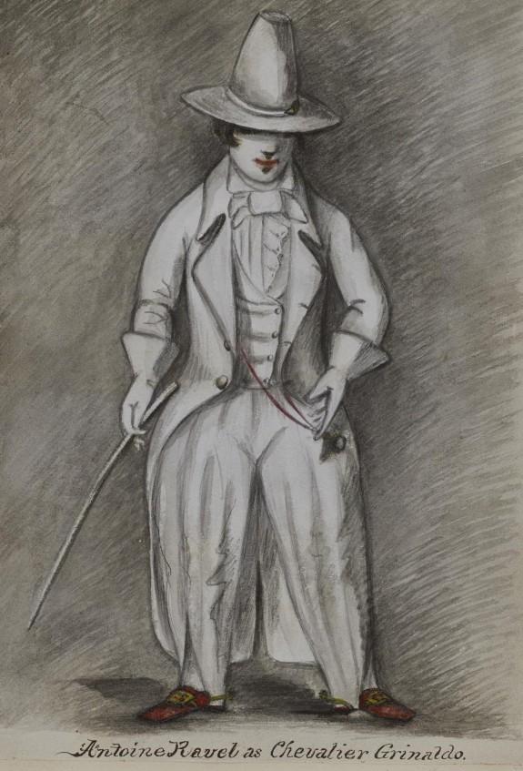 Antoine Ravel as Chevalier Grinaldo