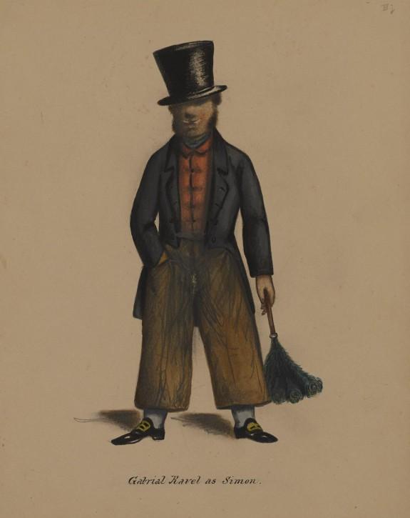 Gabriel Ravel as Simon