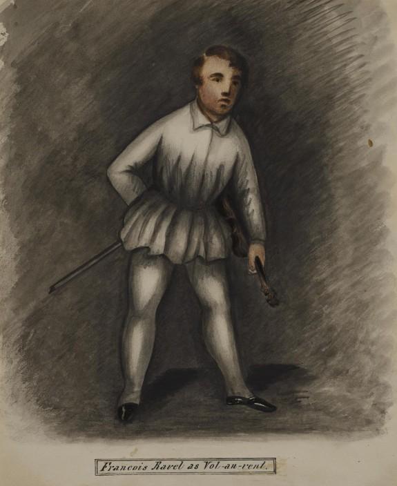 François Ravel as Vol-au-vent