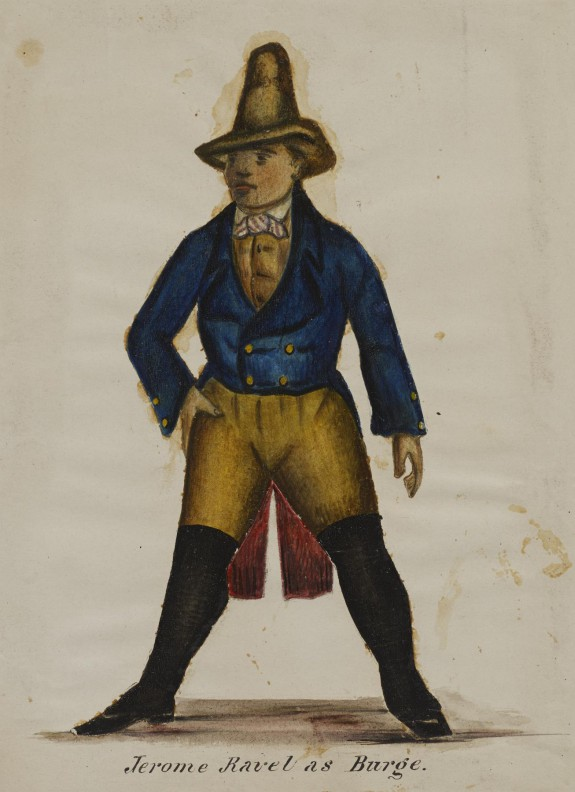 Jerome Ravel as Burge