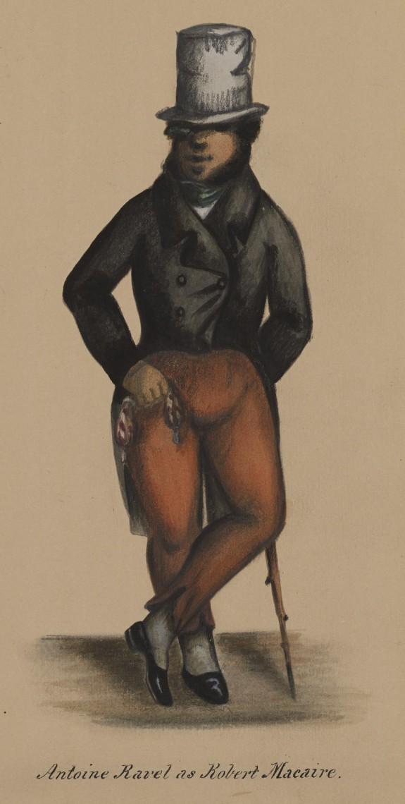 Antoine Ravel as Robert Macaire