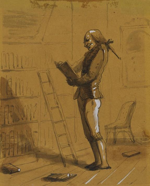 Bibliomaniac with an