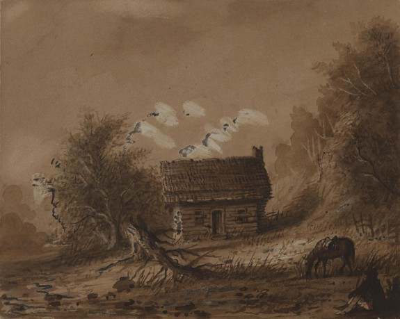 Small Wooden Cottage