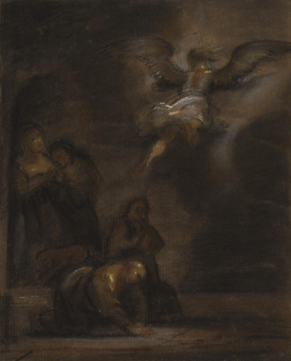 Abraham and the Angel