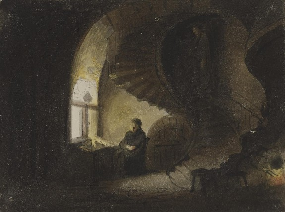 Man Seated by a Window