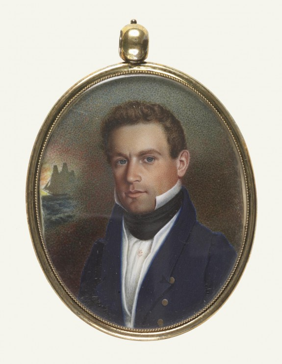 Captain John Robinson of Newburyport, Massachusetts
