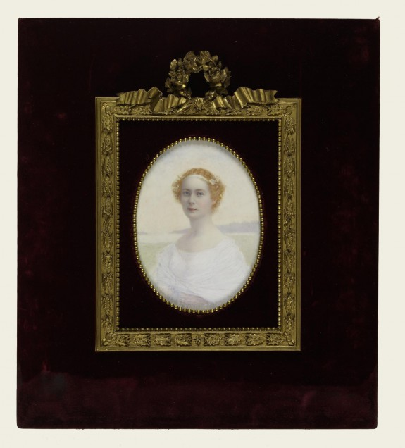 Portrait of a Lady in White