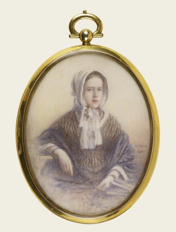 Portrait of Ellen Harper Walters