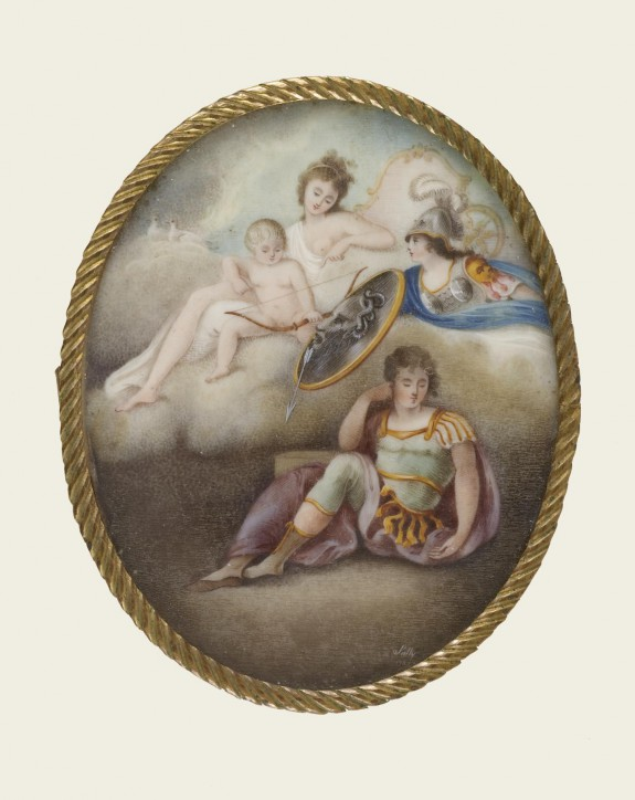 Minerva Shielding a Sleeping Youth from the Arrow of Cupid and the Wiles of Venus