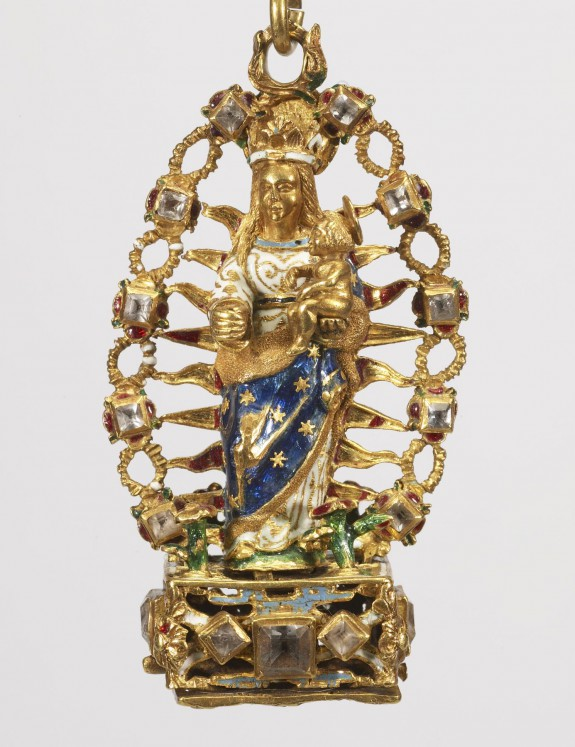 Reliquary Pendant with the Virgin and Child in Glory