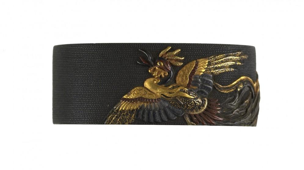 Fuchi with Japanese Phoenix (