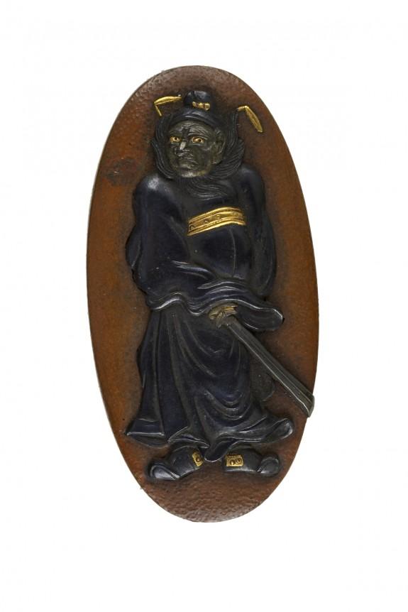 Kashira with Shôki the Demon Queller