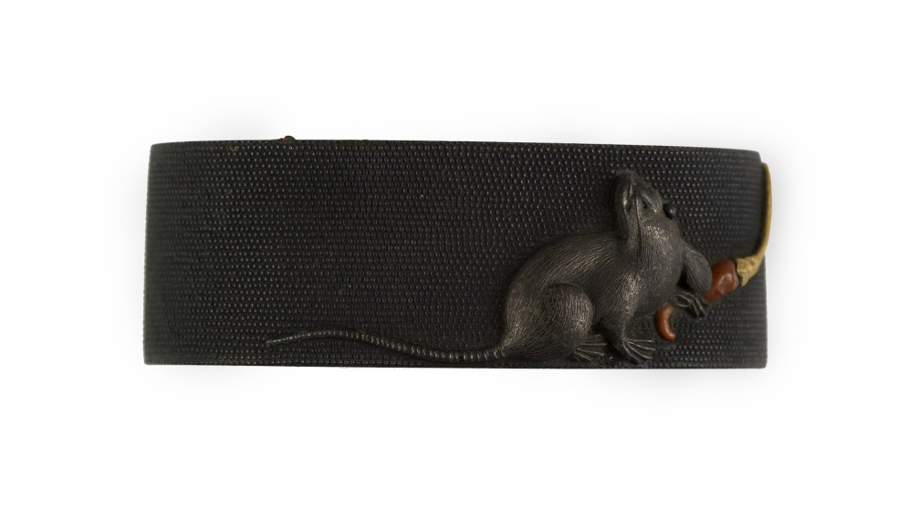 Fuchi with Rat and Red Chili Pepper