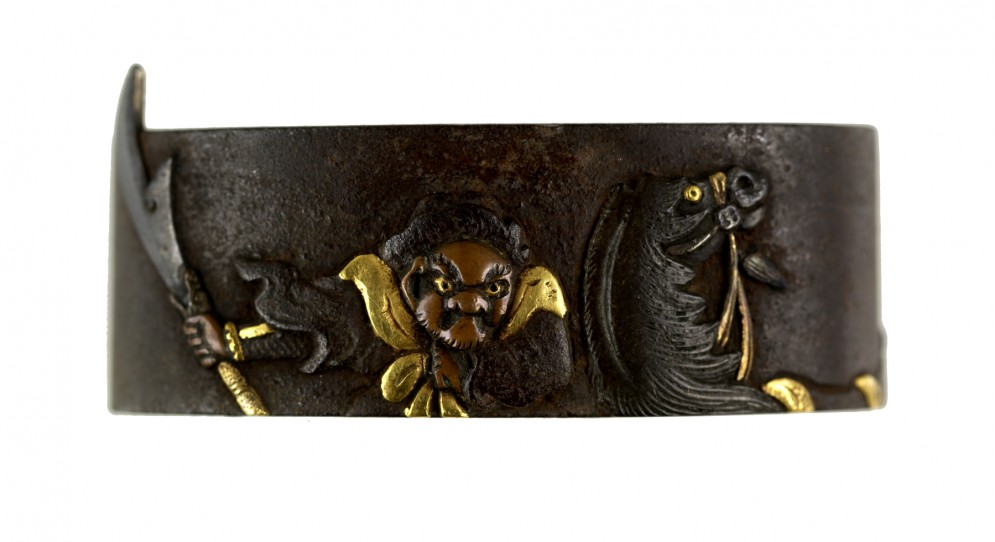 Fuchi with Chinese Warrior