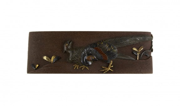 Fuchi with Pheasants