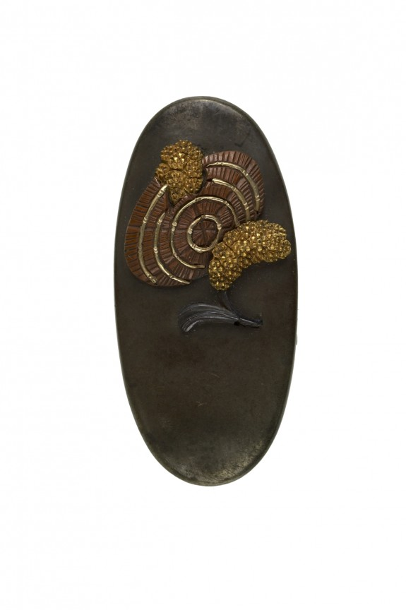 Kashira with Millet and a Straw Hat